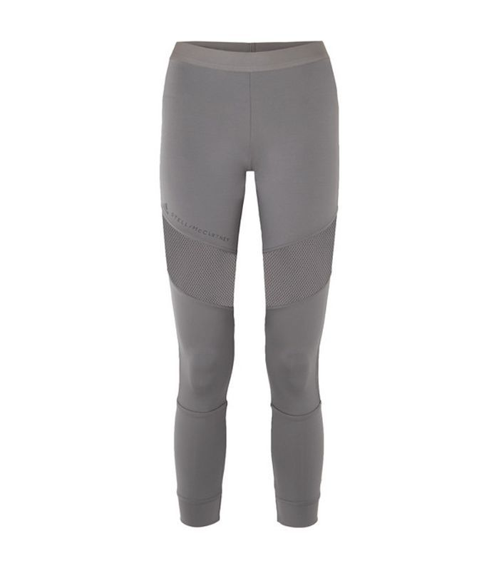 Adidas x Stella McCartney Parley for the Oceans Essentials Mesh-Paneled Stretch Leggings