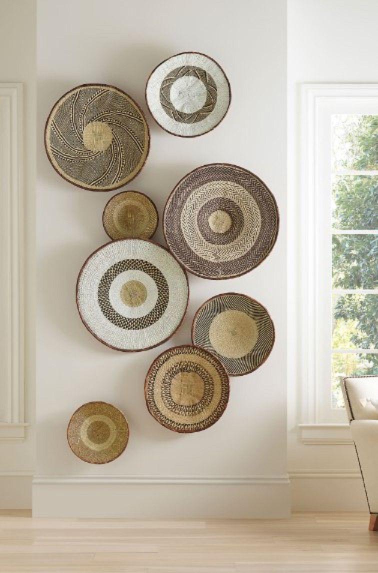Del Sol Basket Wall Art Set