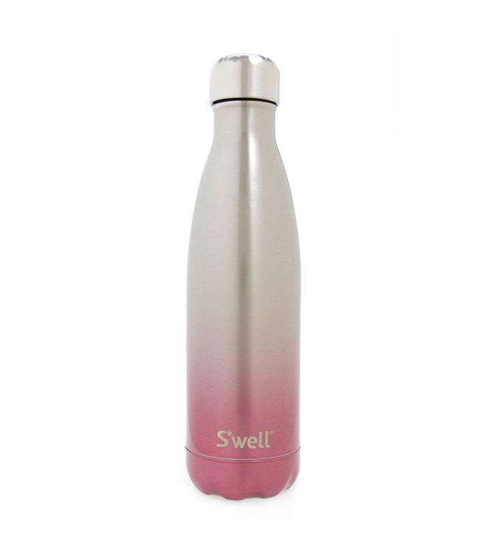 S'Well Seashell Pink Ombre Insulated Stainless Steel Water Bottle