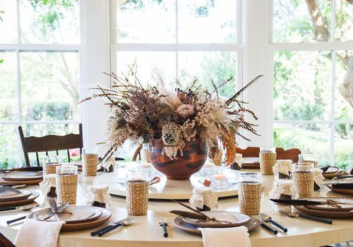 fall holiday table decorations
