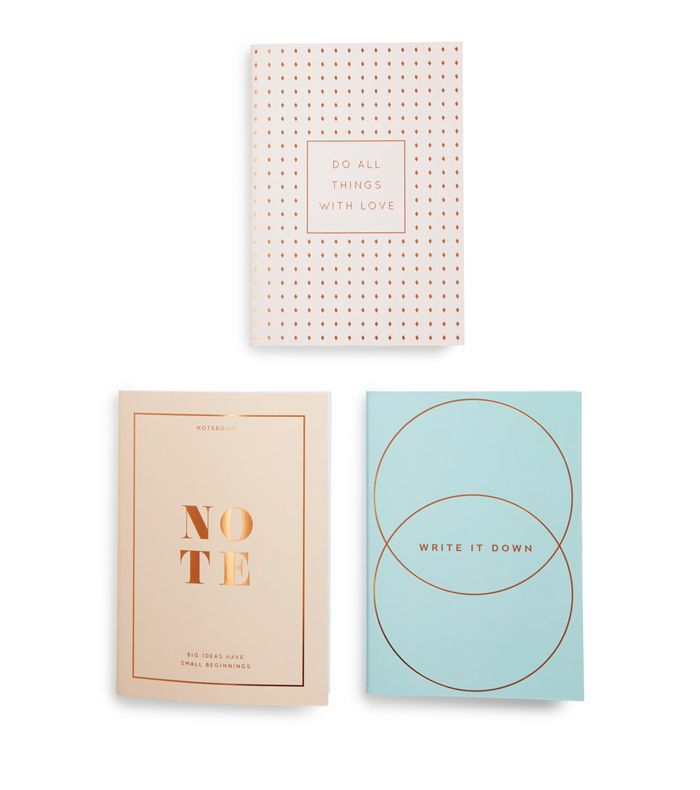 Kikki.k A5 Essential 3-Pack Notebooks -