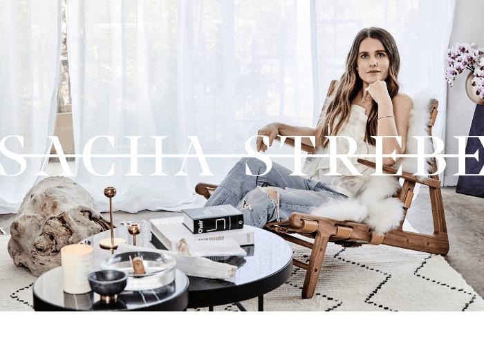 modern apartment tour—Sacha Strebe
