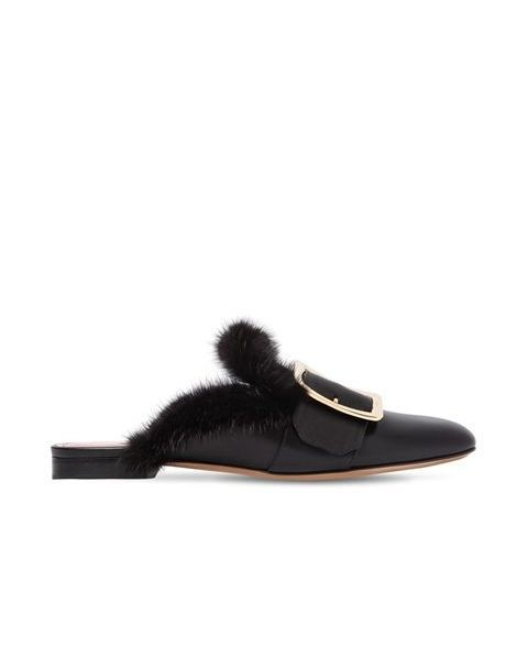 Bally Janesse Leather Mules