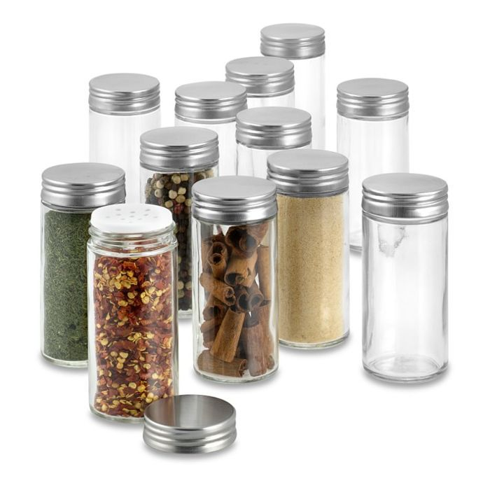 Williams Sonoma Extra Spice Jar Replacements, Set of 12