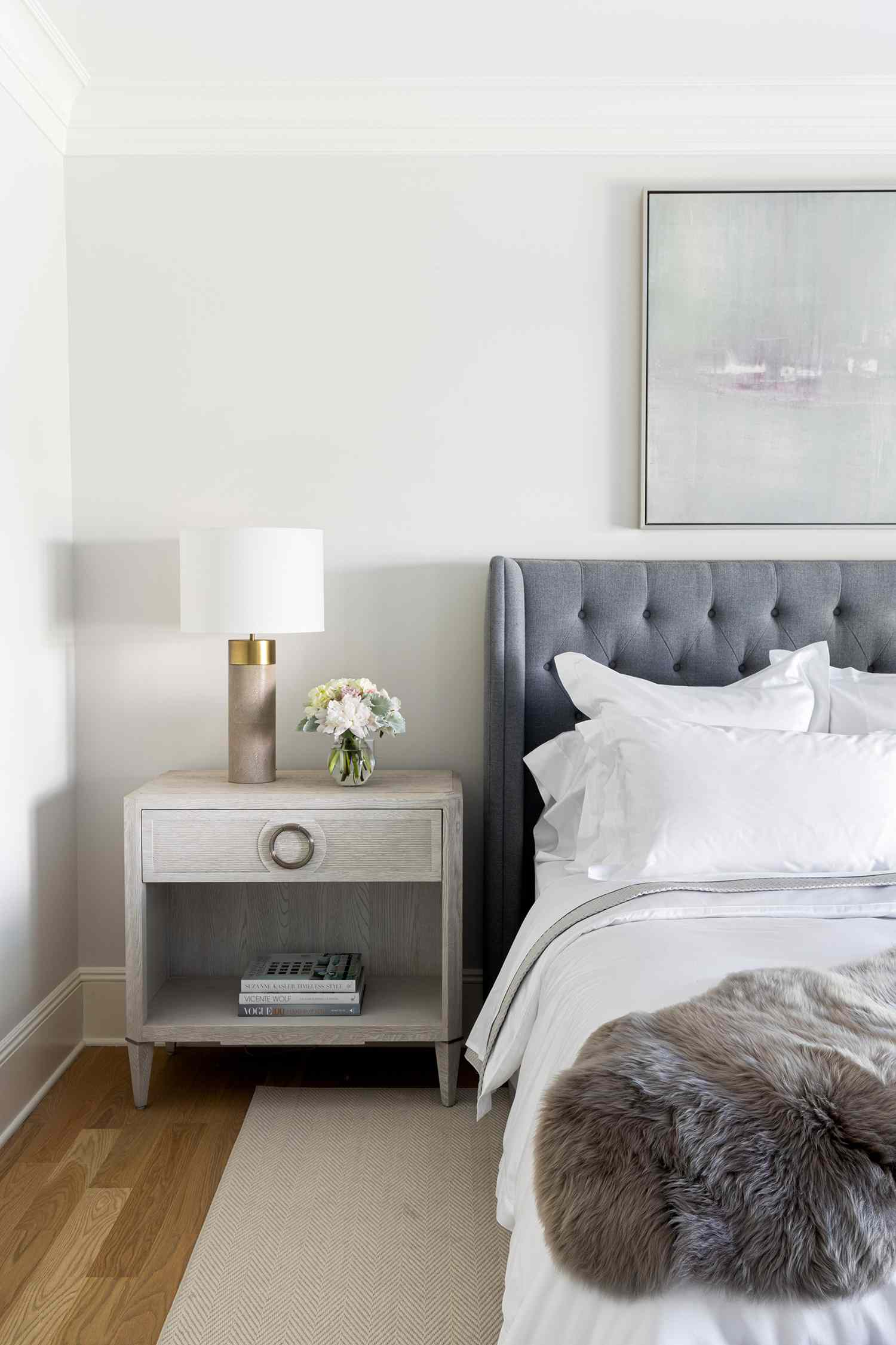 new jersey home tour - master bedroom