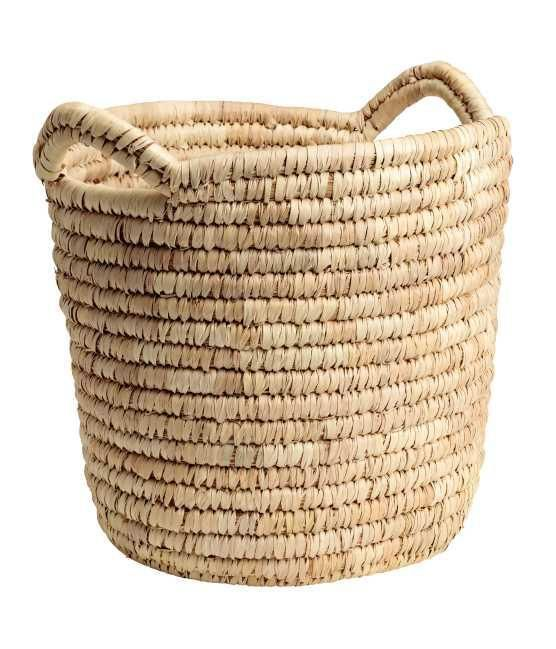- Large Storage Basket - Natural - H & m Home