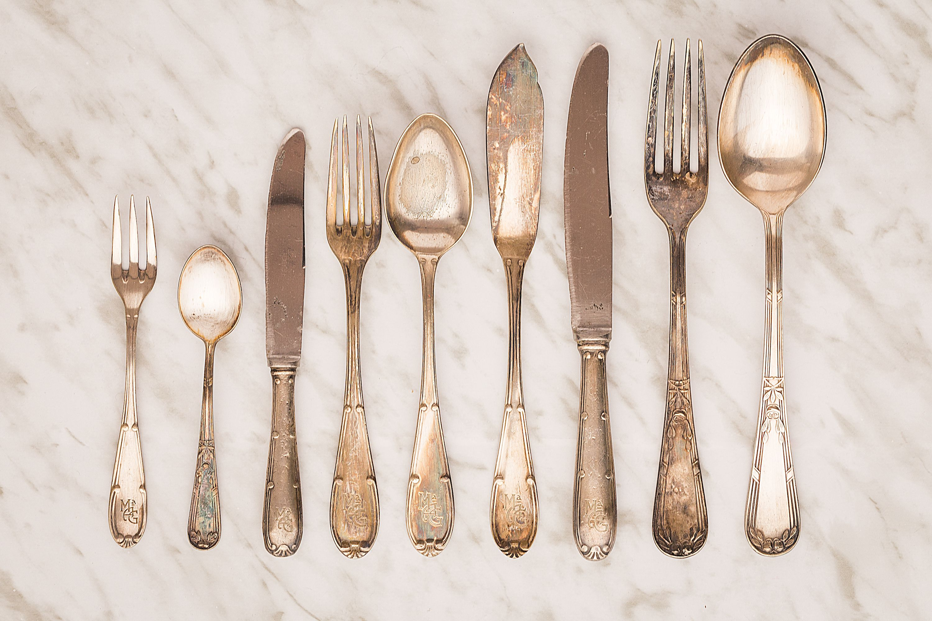 Real Sterling-Silver Versus Silver-Plated Flatware