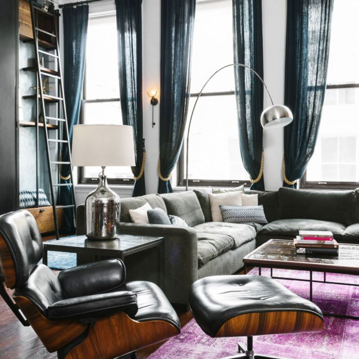 Homepolish Brooklyn Apartment Design With Cool Wallpaper: How To Create A Cool Downtown Vibe In Any Space