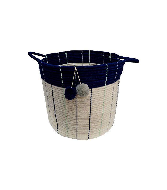 Target Large Storage Basket Navy