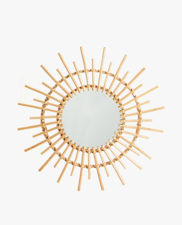 Zara Home Bamboo Sun Mirror
