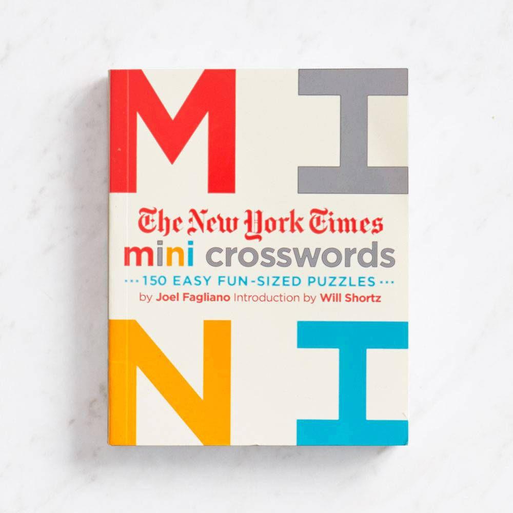 The New York Times mini crosswords book