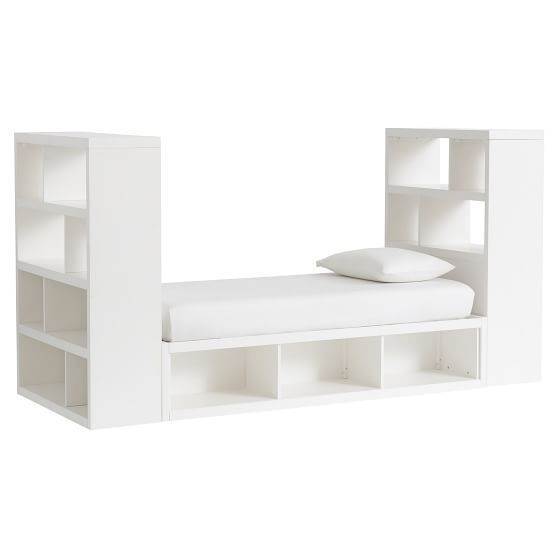 PB Teen Store-It Daybed Storage Tower Set