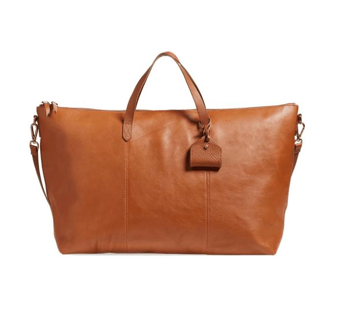 'Transport' Weekend Bag - Brown