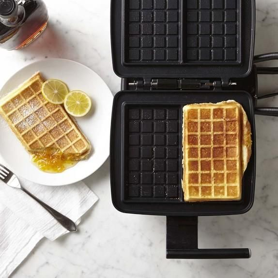 Croquade Stuffed Waffle Plate