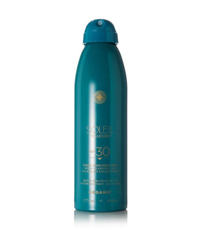 Spf30 Organic Sheer Sunscreen Mist