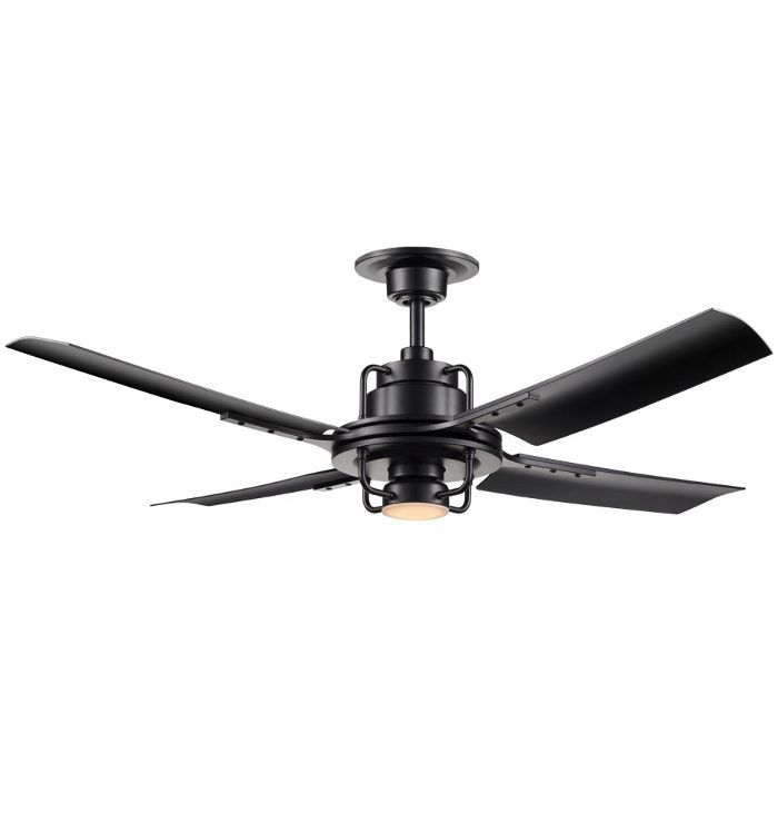 Rejuvenation Peregrine Industrial LED Ceiling Fan