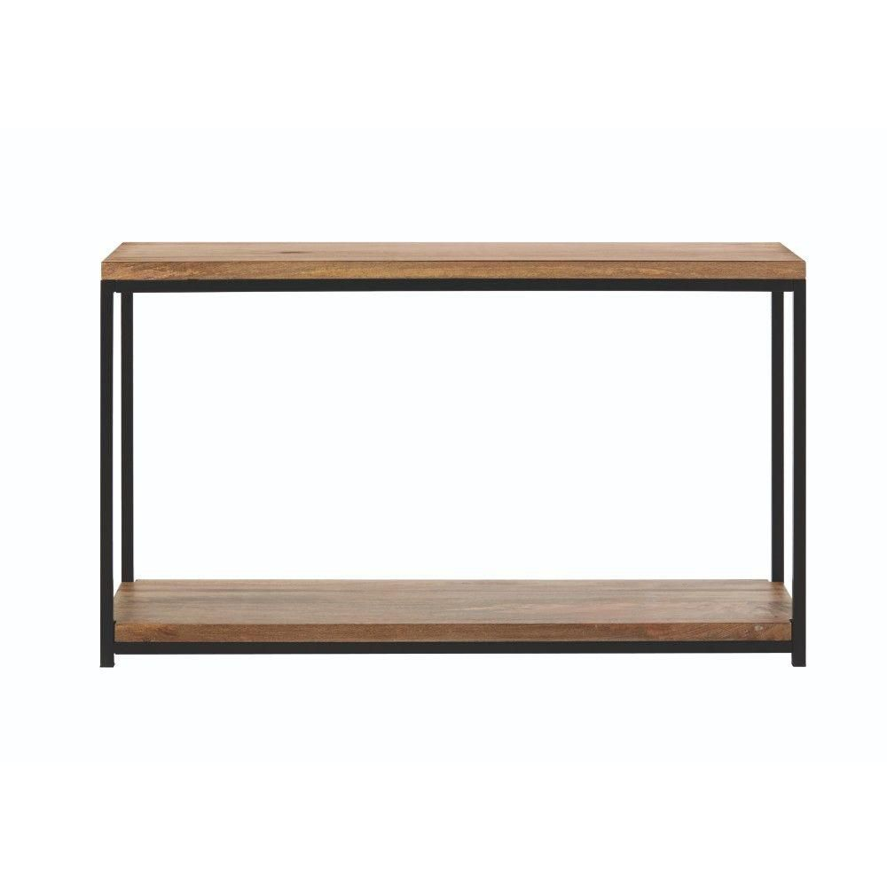 Anjou Natural Console Table—Home Depot Spring Sale