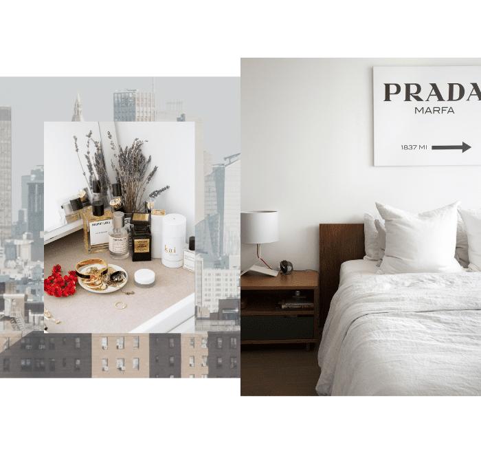 Recorrido por los apartamentos de Williamsburg: arte de Prada Marfa