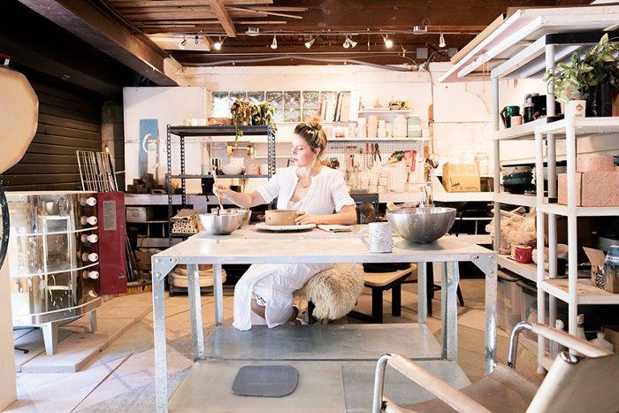 modern work studio—Lux Eros