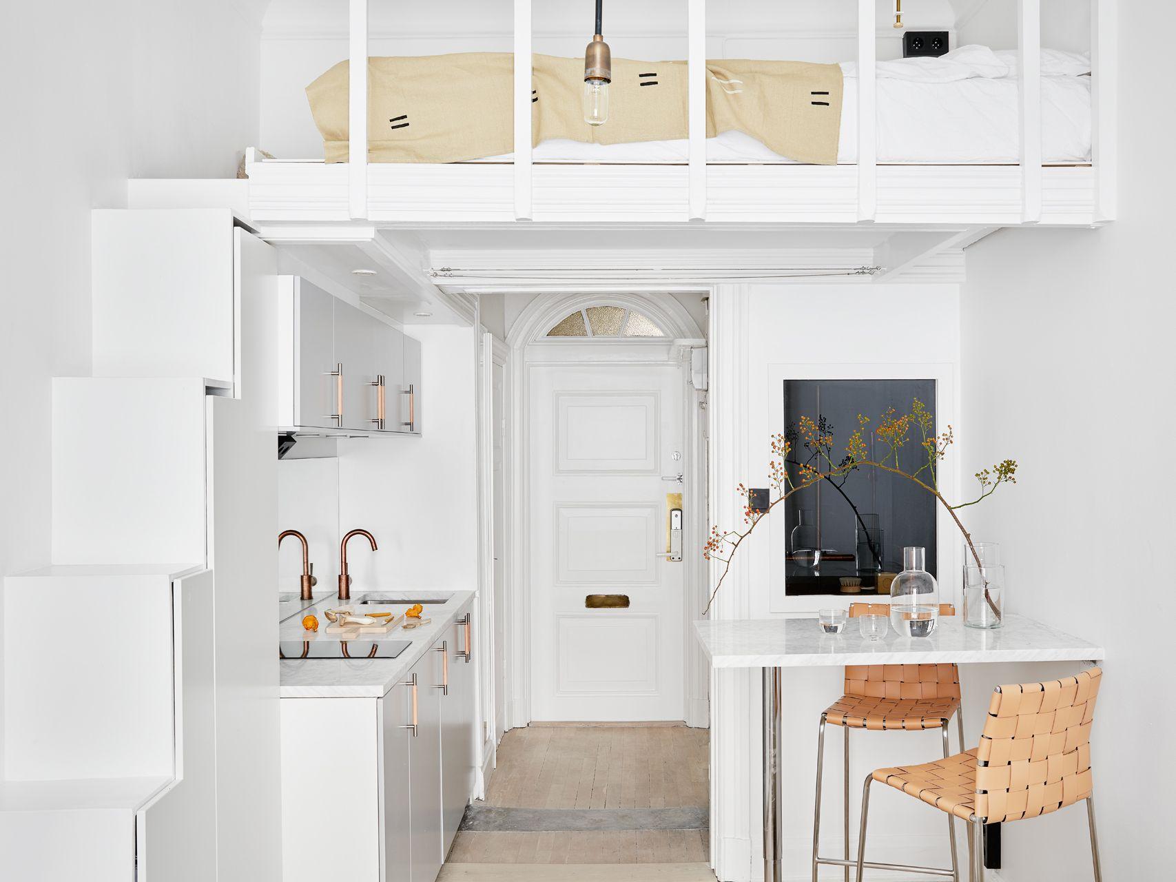 One Studio Apartment 4 Ways—Follow Our