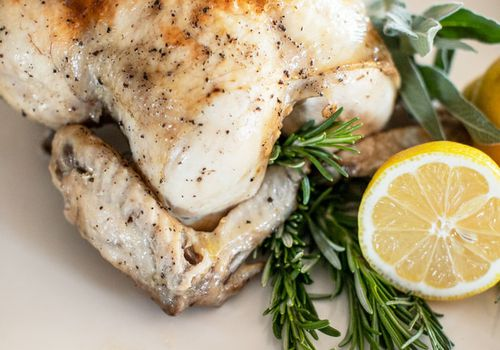 Instant Pot whole cooked chicken