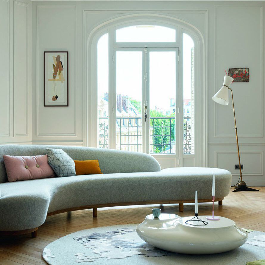 Best Curved Sofa Decorating Ideas