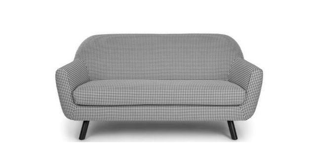 Gabriola checked sofa