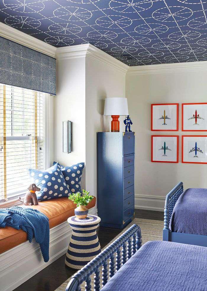 boy's bedroom ceiling design