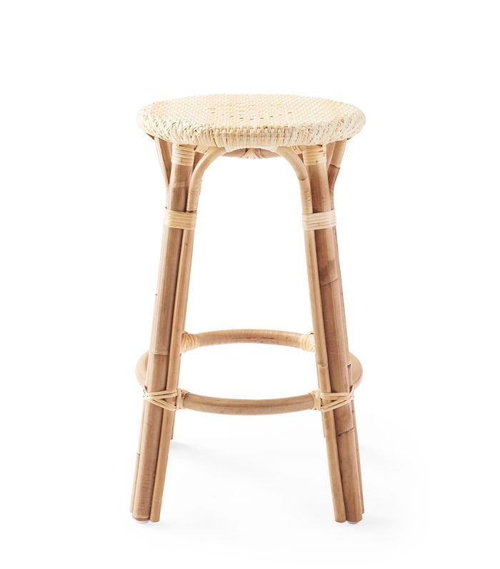 Riviera Backless Counter Stool - Natural