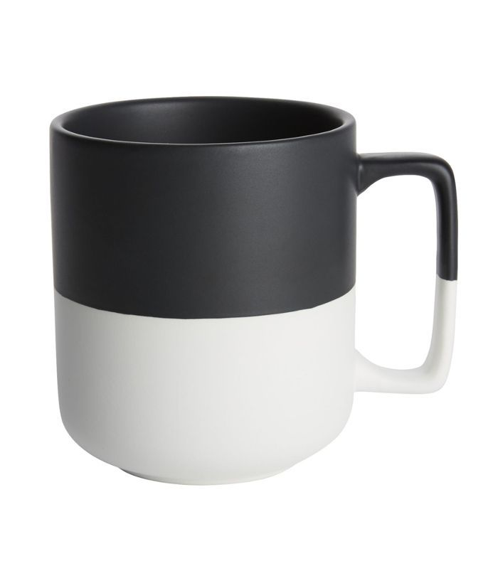 Black Dip Large Mug