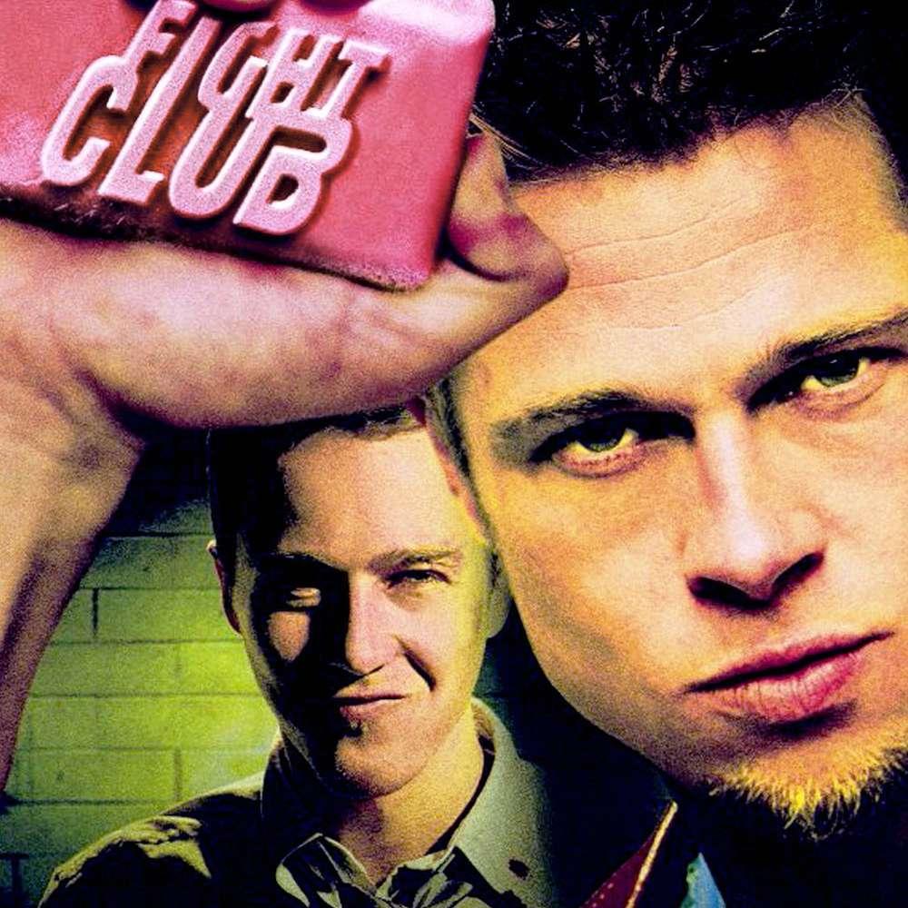 Fight Club movie poster.