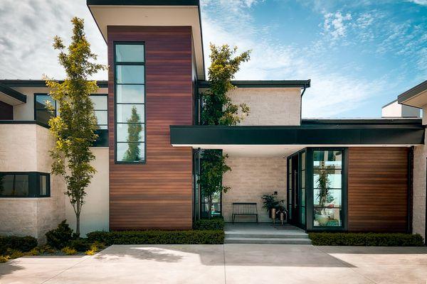 Modern home in British Columbia