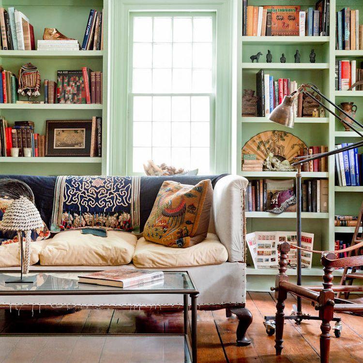 Rikki Snyder eclectic reading room