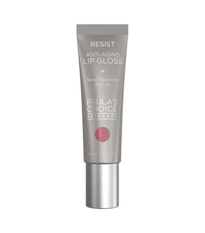 Anti-Aging Lip Gloss reduces wrinkles