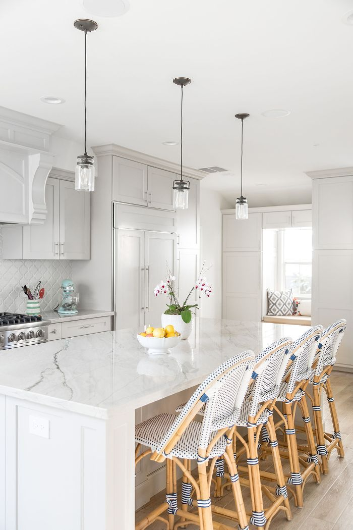 Weeknight Bite—white kitchen ideas