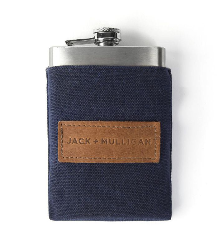 Jack + Mulligan Redford Waxed Canvas Flask