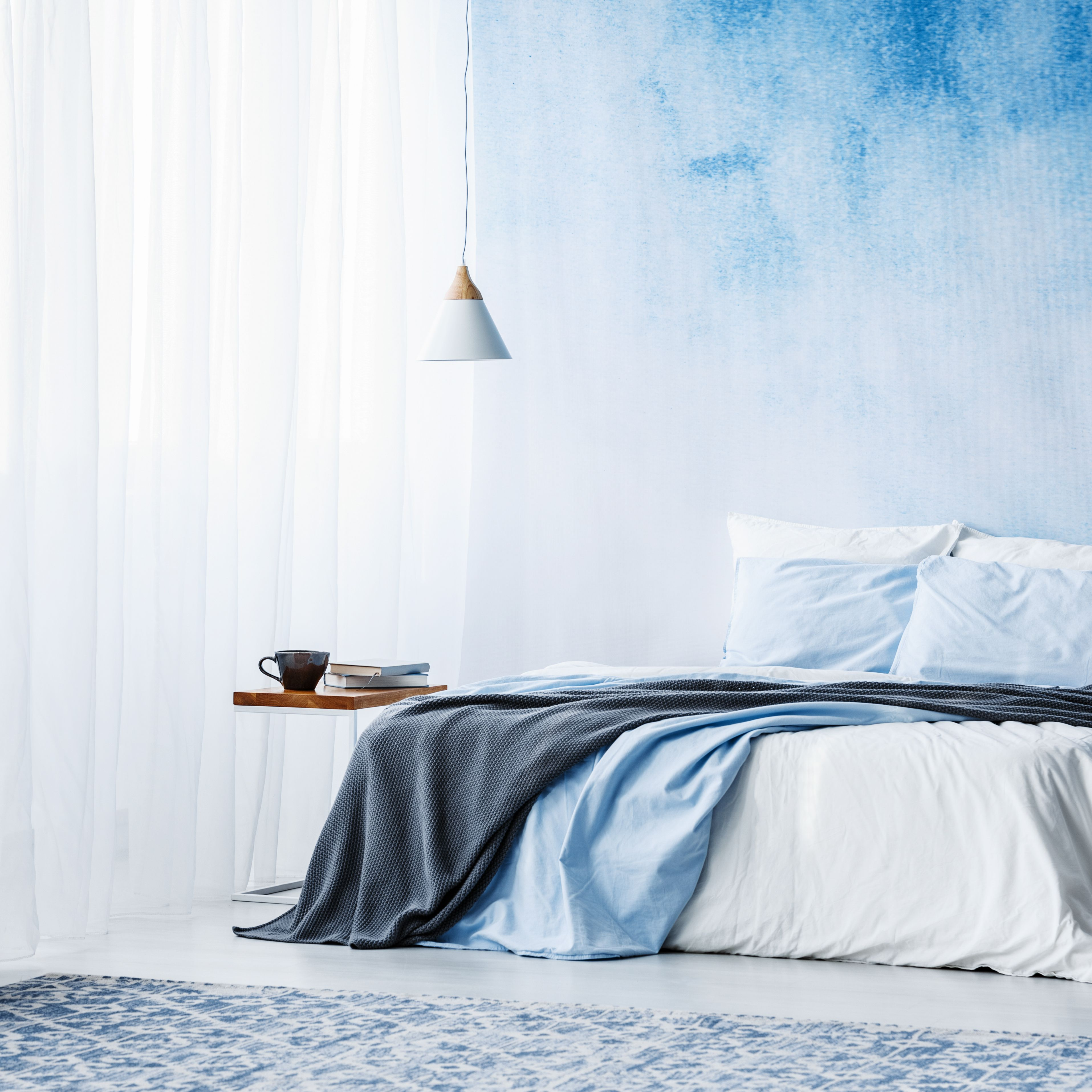 We Can't Get Enough of These Gorgeous Blue Bedrooms