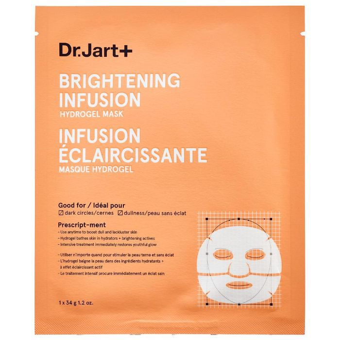 Brightening Infusion Hydrogel Mask 1 x 1.2 oz mask/ 1 x 34 g