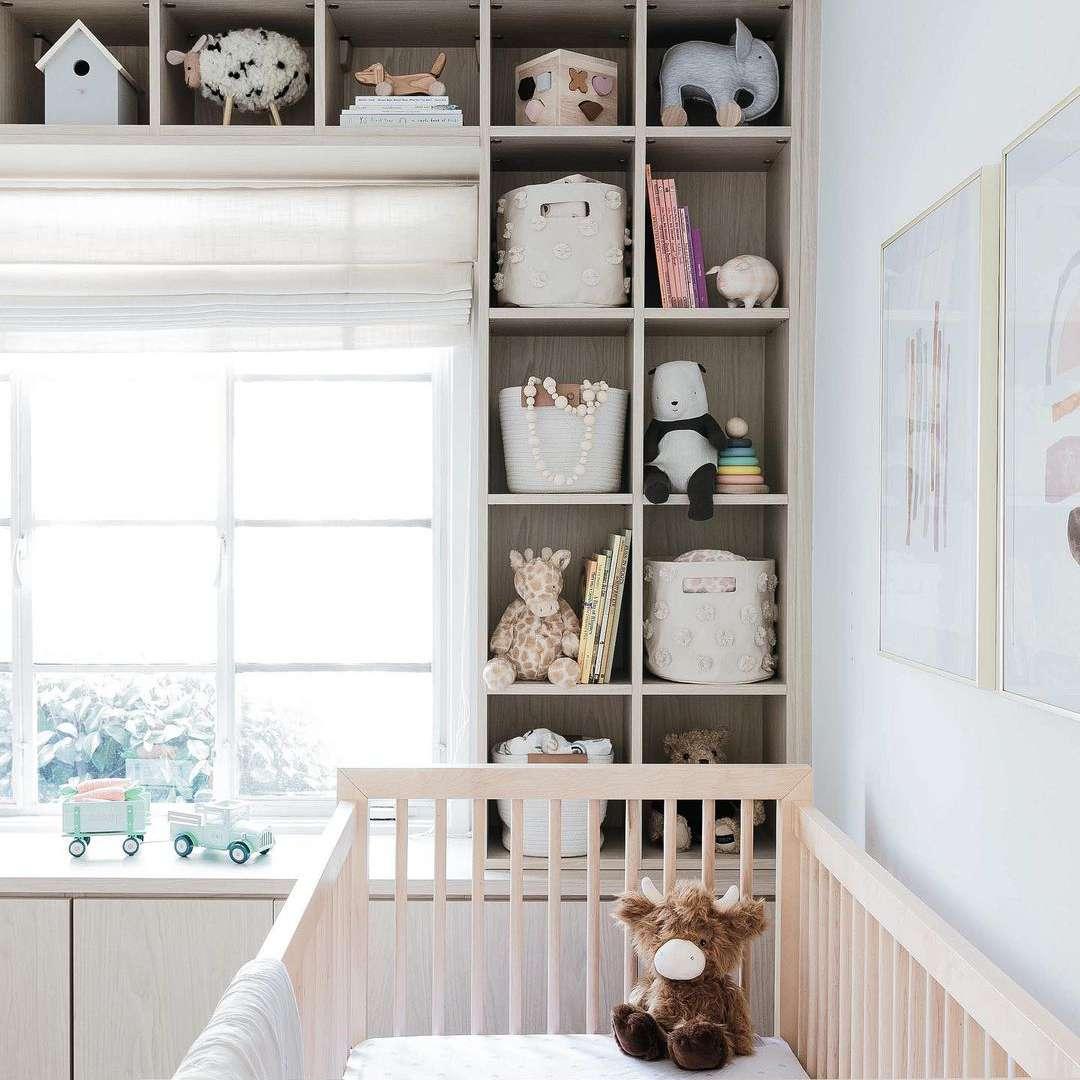 Nursery with storage