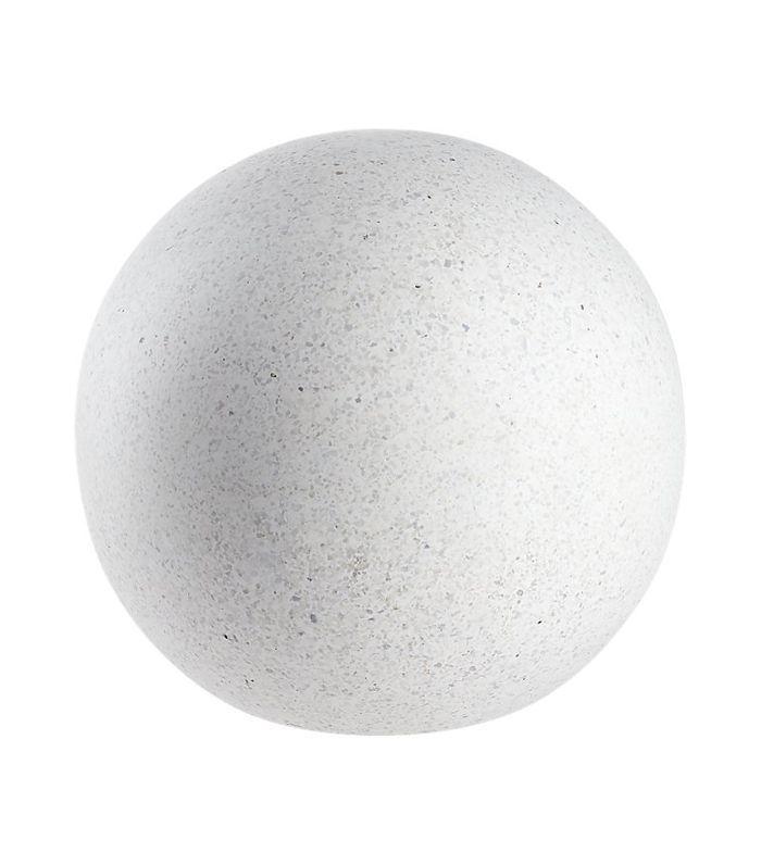 CB2 Playa Ivory Small Terrazzo Ball