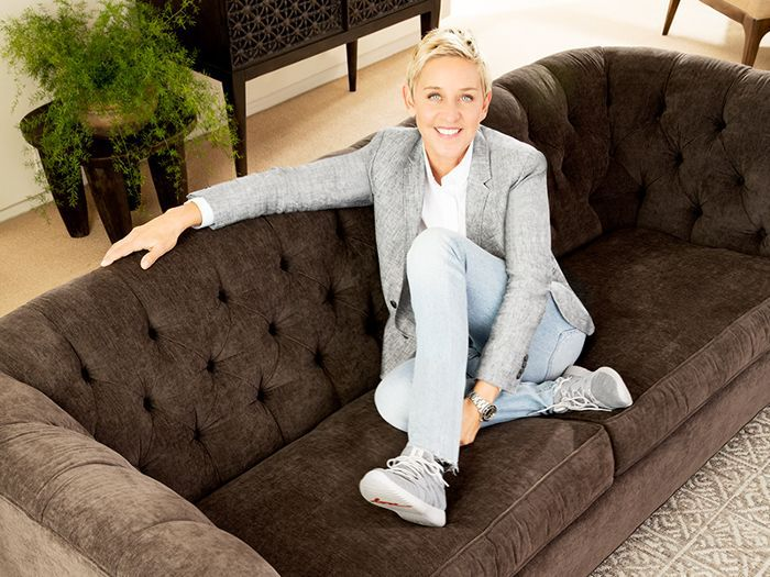 Ellen DeGeneres Decorating Tips