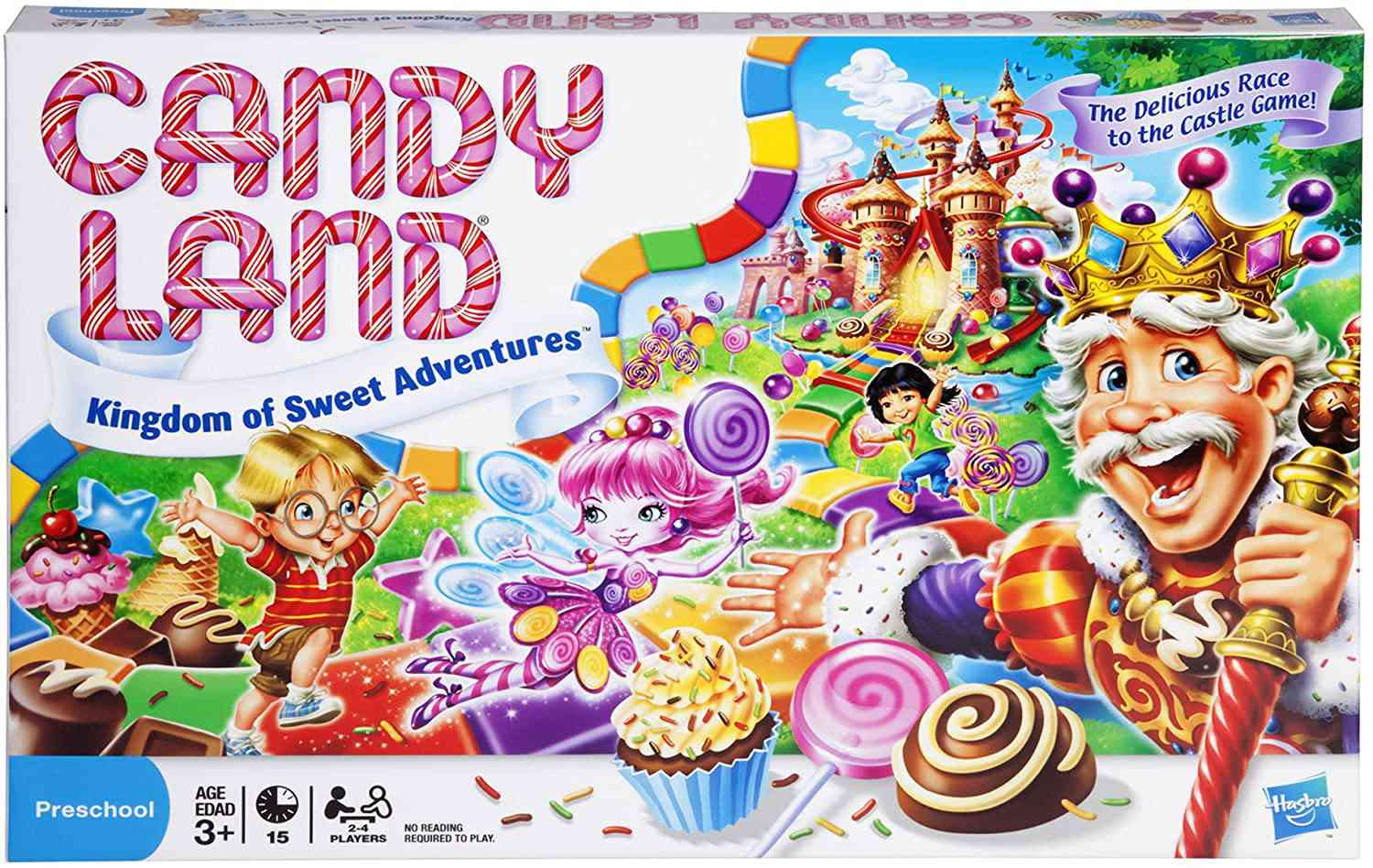 Hasbro Gaming Candy Land The World of Sweets Game