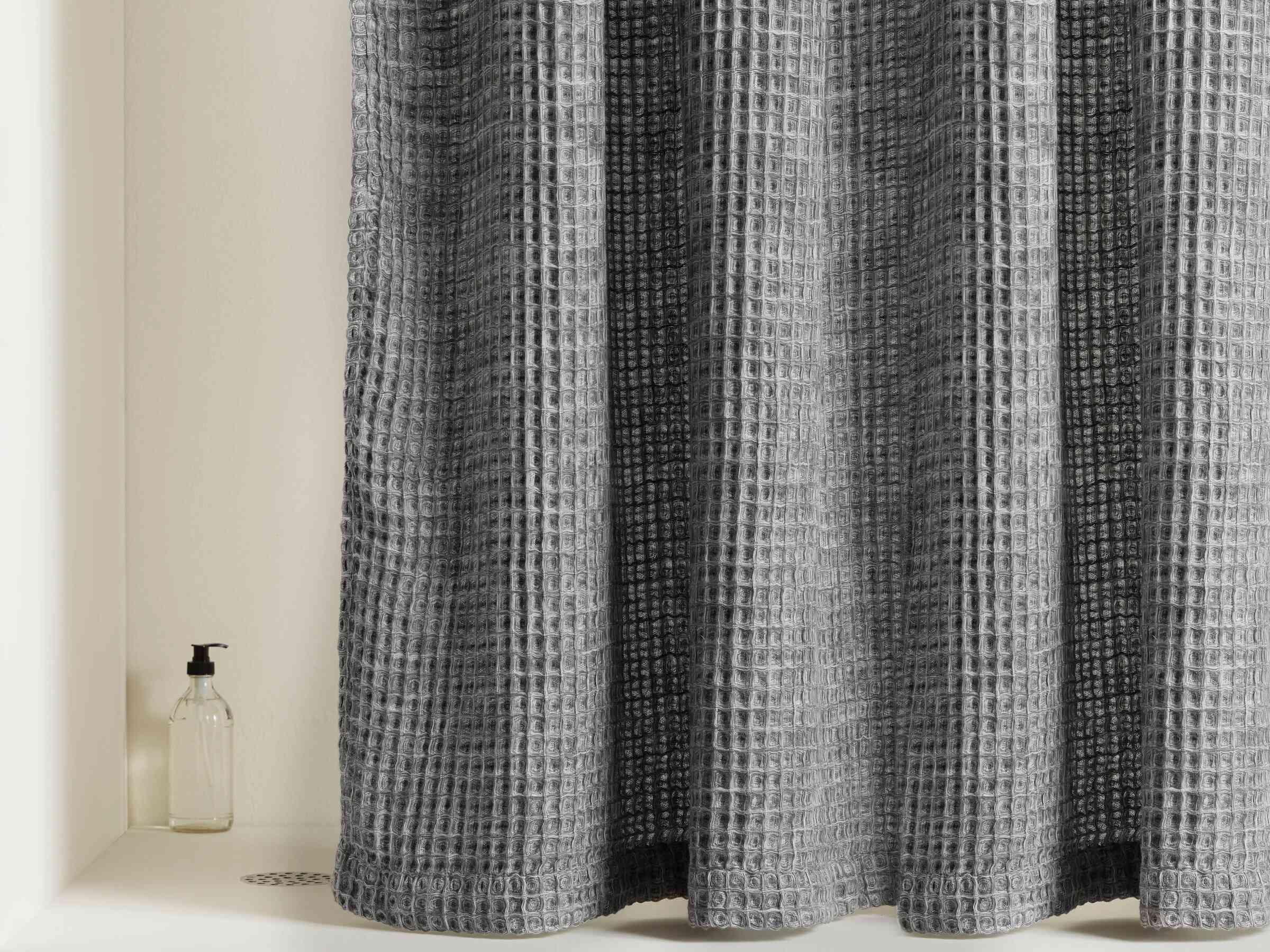 Parachute Waffle Shower Curtain