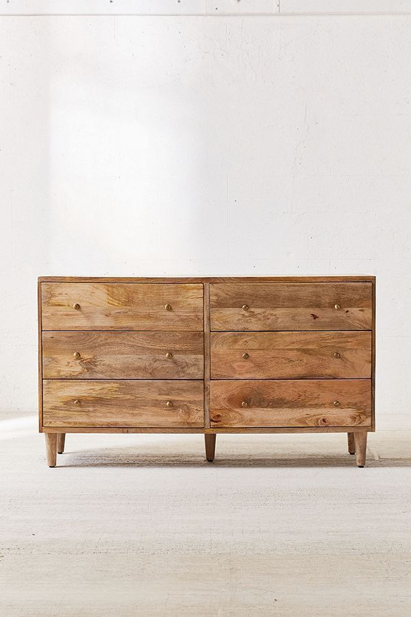 Amelia 6-Drawer Dresser