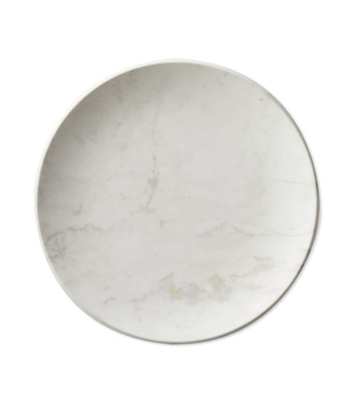 Marble Melamine Salad Plates