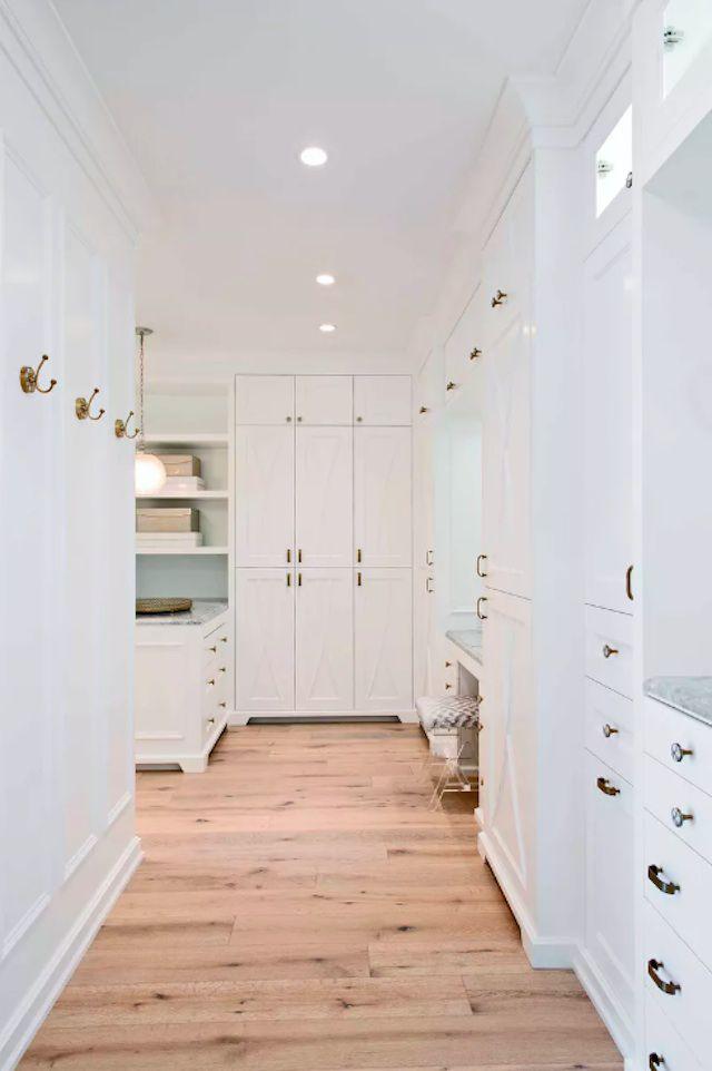white closet idea