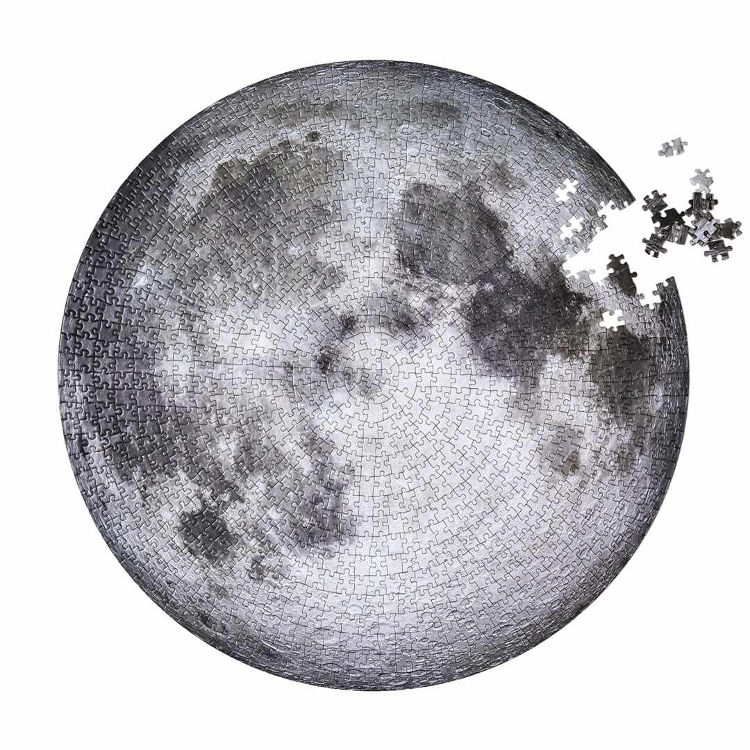 Four Point Puzzles The Moon