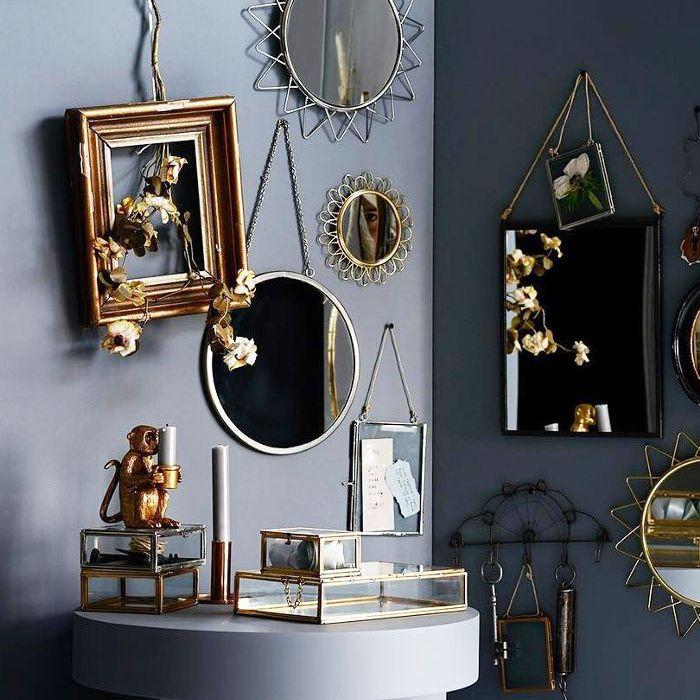 H&M Australia Affordable Round Mirror