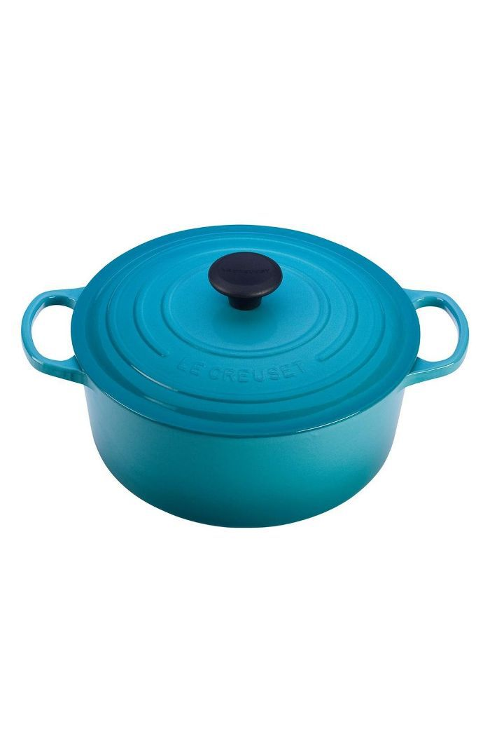 Le Creuset Signature 7 1/4 Quart Round Enamel Cast Iron French/dutch Oven Friendsgiving Party Ideas