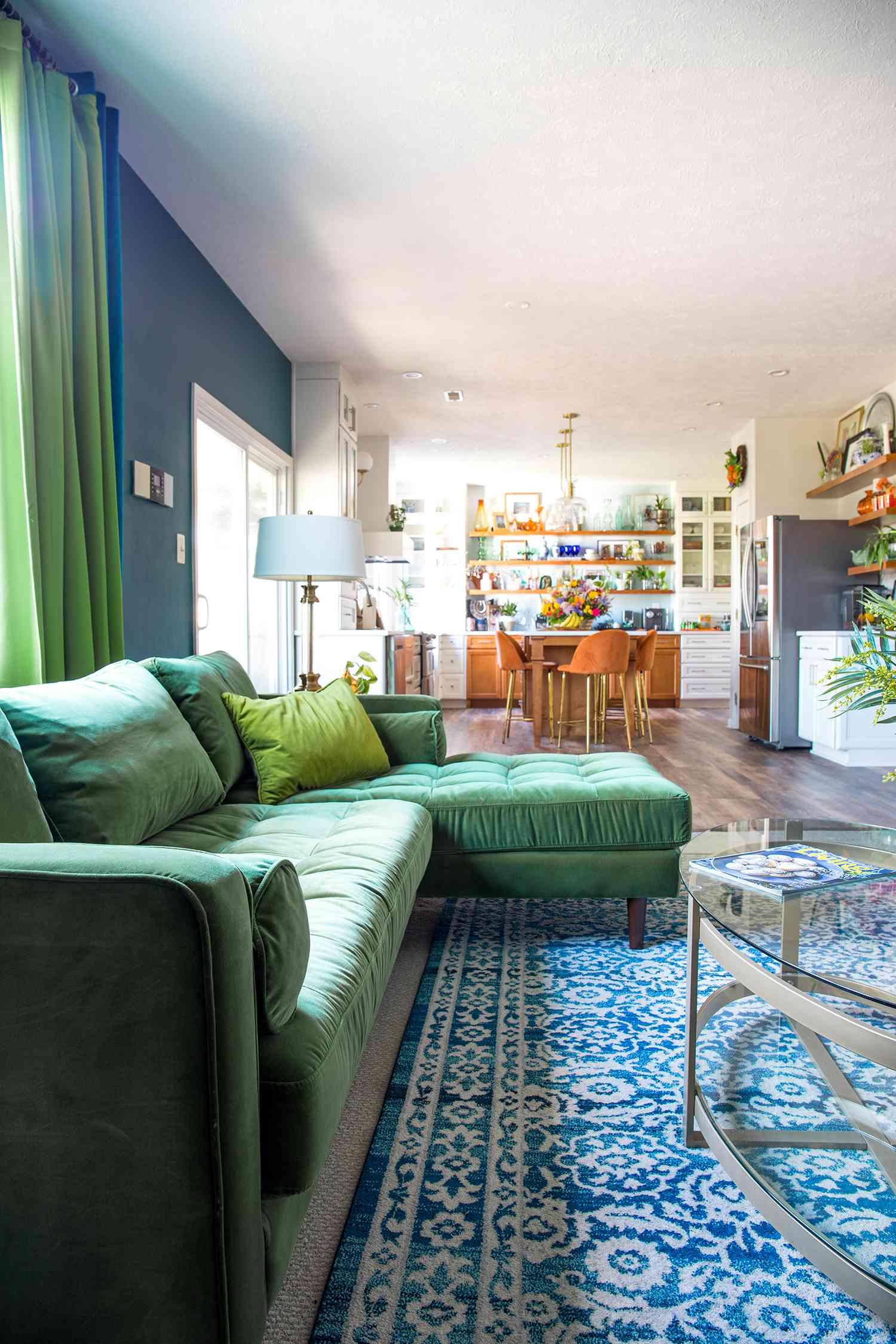 casa watkins living - bohemian living room